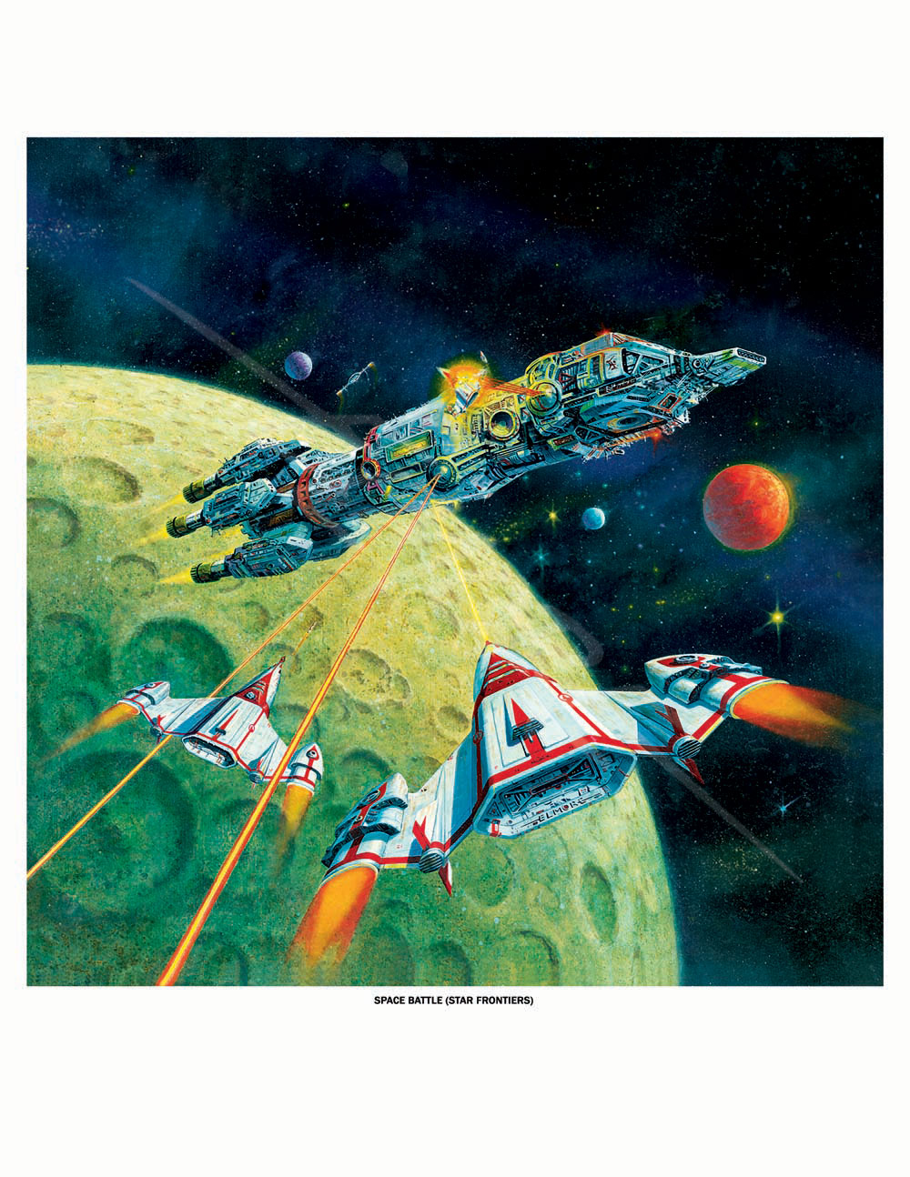 Star Frontiers 1 - Fighter Attack